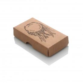 Pudełko na pendrive drewniany TS Łapacz Snów kraft