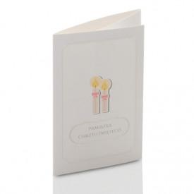 Mini-Album TS Na Chrzest - zestaw: 2 zdjęcia 13x18 + zakładka na CD