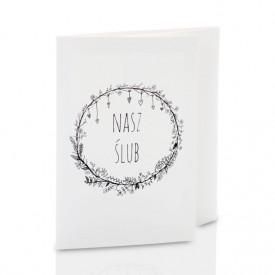 Mini-Album TS Nasz Ślub B&W na zestaw: 4 zdjęcia 15x21