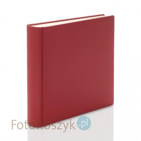 Album introligatorski ER Hand czerwony XXL (tradycyjny, 100 kremowych stron)