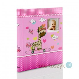 Album na zdjęcia dziecięce Muzzle pink (40 stron pod folię)