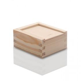 Drewniane pudełko na pendrive (z grawerem lub bez)