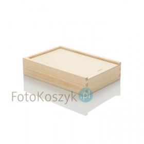 Drewniane pudełko na odbitki 15x23 (z grawerem lub bez)