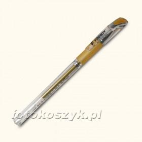 Złoty Długopis Żelowy Fandy