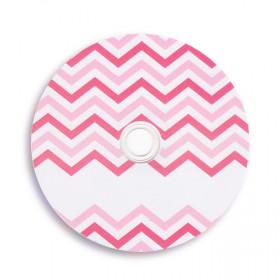 Płyta DVD chevron róż TS (DVD-R 4,7GB 16x)