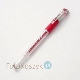 Czerwony Długopis Żelowy Fandy