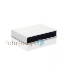 Pudełko na odbitki 15x23 Er Hand biel MAT + miejsce na pendrive