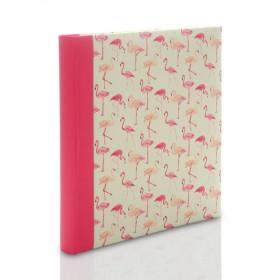 Album Zep Evian flamingi (tradycyjny 60 kremowych stron)