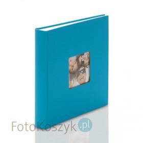 Album Fun Duży niebieski (tradycyjny 100 kremowych stron)