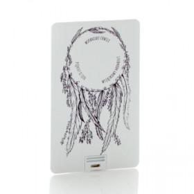 Pendrive karta kredytowa łapacz snów cz-b (do wyboru pojemność 2-32 GB)