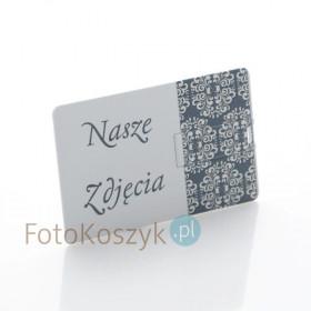 Pendrive Karta Kredytowa Nasze Zdjęcia (do wyboru pojemność 2-32 GB)