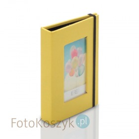 Album na polaroidy Panodia żółty (na 20 zdjęć 8,6x5,4)