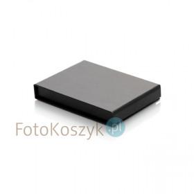 Czarne, uniwersalne pudełko na pendrive (magnes)