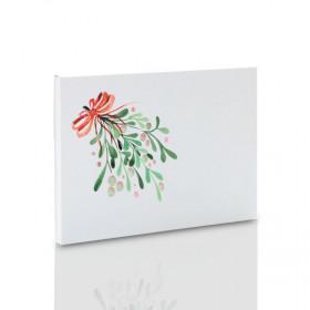 Teczka świąteczna Jemioła na zdjęcia 15x21