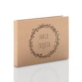 Pudełko na pendrive drewniany TS Nasze Zdjęcia kraft