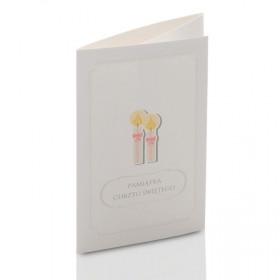 Mini-Album TS Na Chrzest - zestaw: 2 zdjęcia 15x21 + zakładka na CD