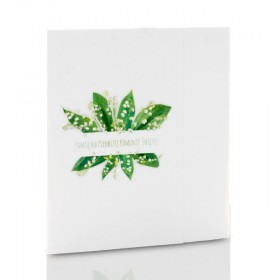Mini-Album Komunijny TS konwalie - zestaw: 3 zdjęcia 13x18