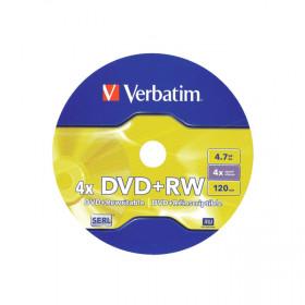 Płyta Verbatim DVD+RW 4x