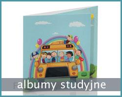 album dziecięcy na zdjęcia studyjne