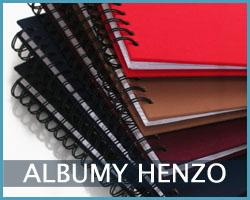 tradycyjne albumy Henzo