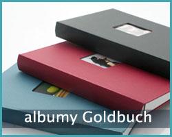 albumy kieszeniowe firmy Goldbuch