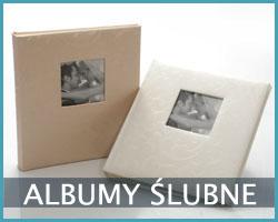 tradycyjne albumy ślubne