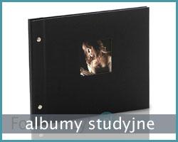 albumy na zdjęcia studyjne